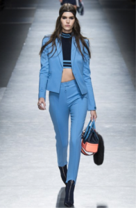 versace blue suit